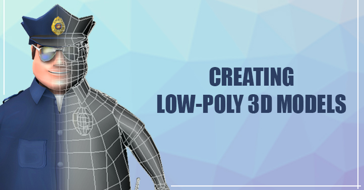 Creating Low-Poly 3D Character Models | Game Gorillaz