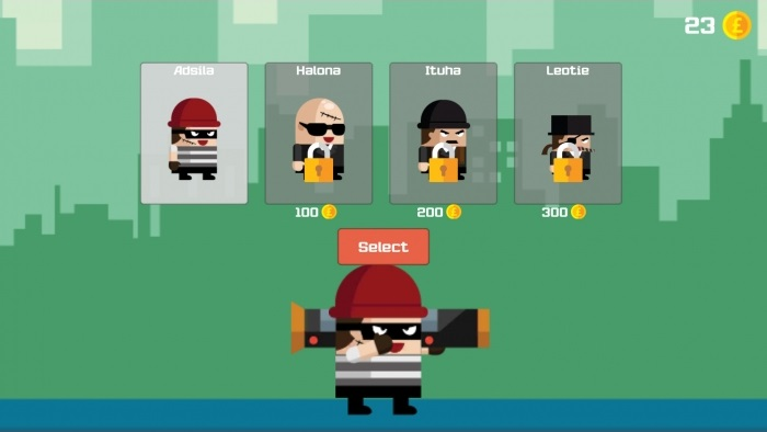 Robber Escape Unity 3D Game Source Code