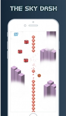 The Sky Dash – Fast Tapping Rotating Gameplay