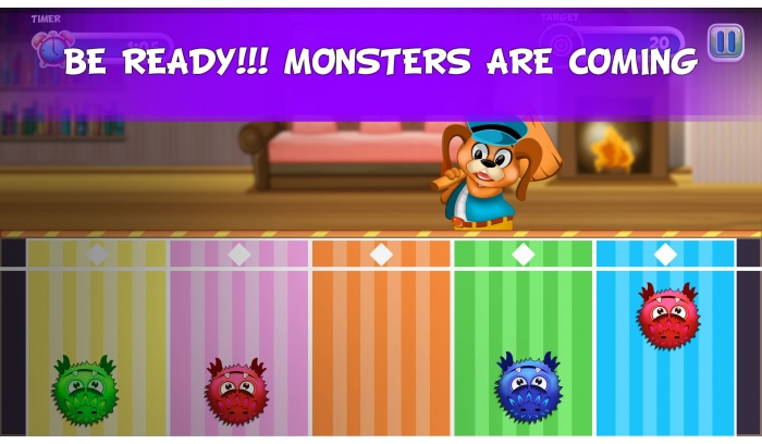 Smash the Monster Unity 2D One Touch Game Source Code