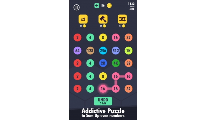 Sum Up Maths Puzzle Unity 2D Game Template