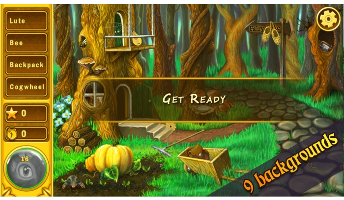 Hidden Object Unity 3D Puzzle Game Template