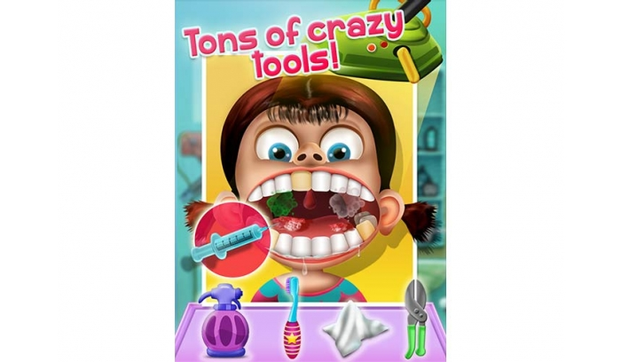 Kids Tooth Doctor Uinty 2D Game Source Code