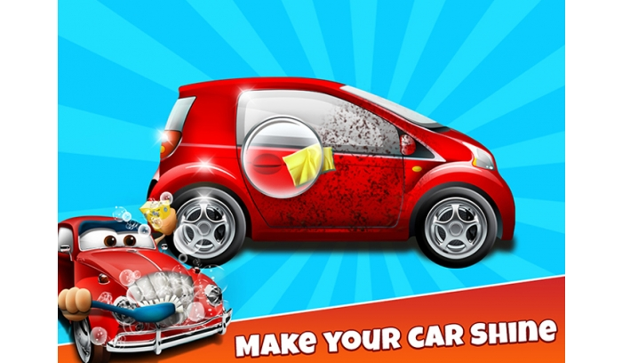 Car Wash Kids Game Project