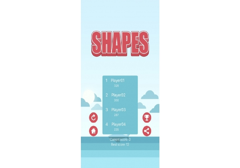 Shapes iOS Native Game Source Code