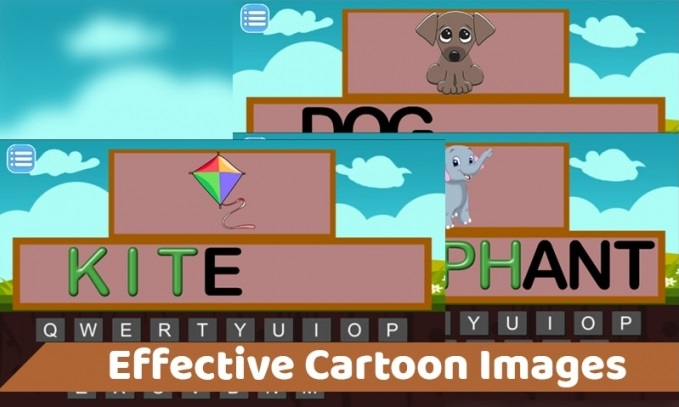 Kids Play Type to Learn Unity 2D Educational Game Source Code