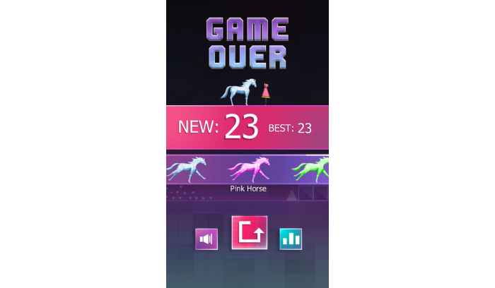 Horse Runner – Buildbox Game Template