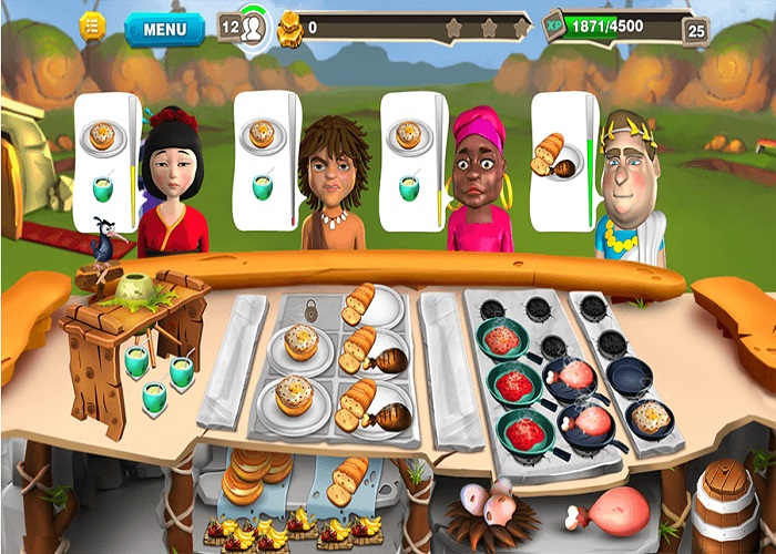 Stone Age Chef : Cooking Game Unity Template