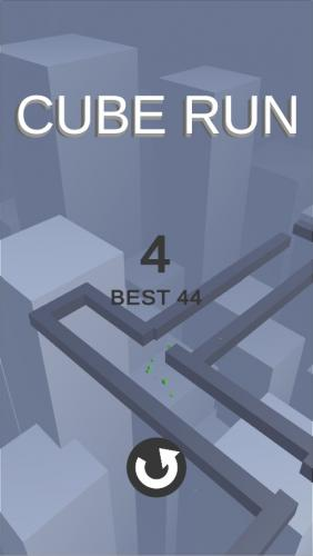Cube Run – Unity 3D Casual Game Soruce Code