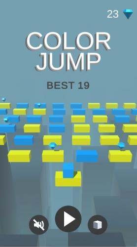 Color Jump Unity 3D One Touch Game Soruce Code
