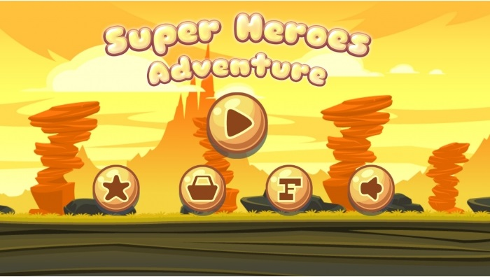 Super Heroes run Adventure – Android Project