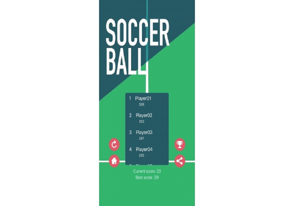 Soccer Ball iOS Native Game Source Code