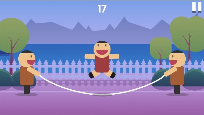 Skip Rope Unity 2D Game Source Code