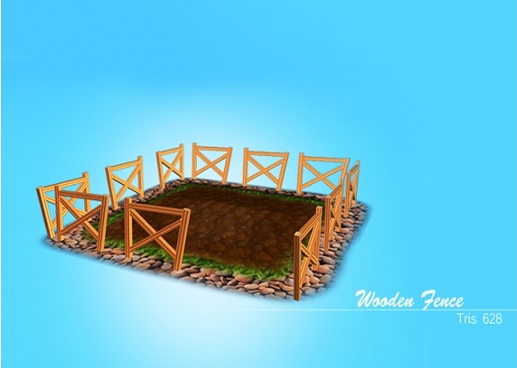 Low Poly Mobile Ready 3D Farm Pack