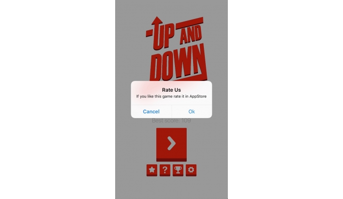 Up And Down iOS Native Game Source Code