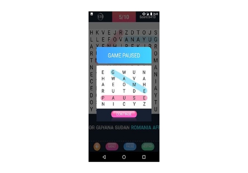 Word Search Android Native Source Code